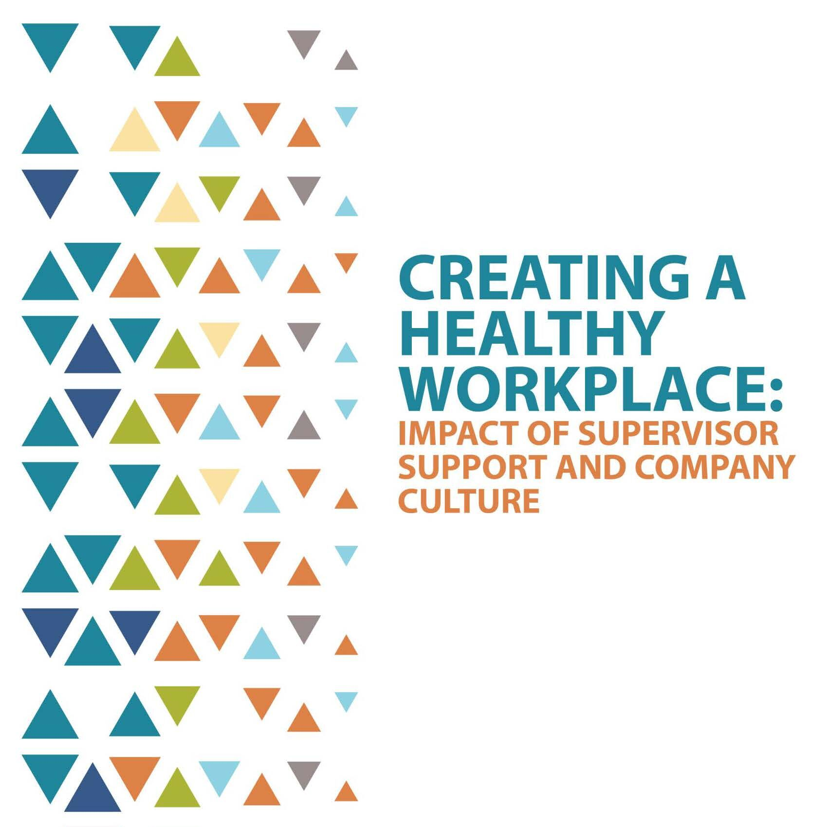 Creating A Healthy Workplace 2020