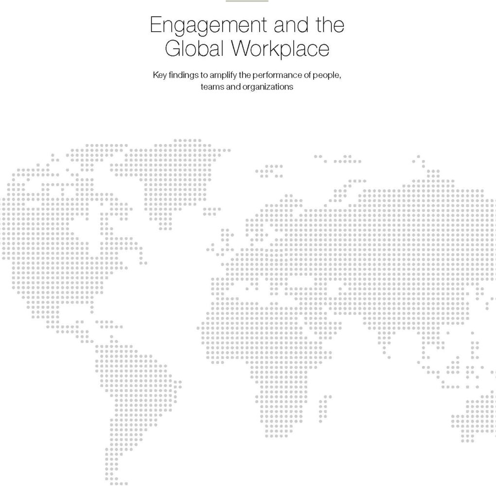 Engagement and the Global Workplace