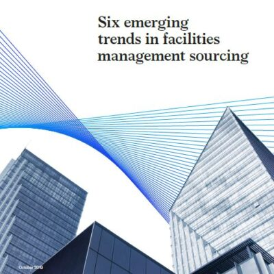 Six emerging trends in facilities management sourcing