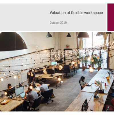 Valuation of flexible workspace