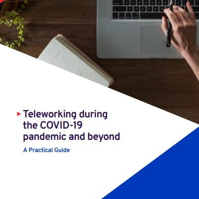 Teleworking during the COVID-19 pandemic and beyond