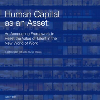Human Capital as an Asset