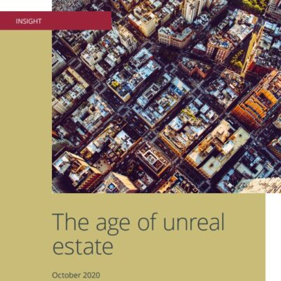 The age of unreal estate