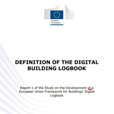 Definition of the digital building logbook