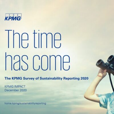 The Time Has Come: The KPMG Survey of Sustainability Reporting 2020