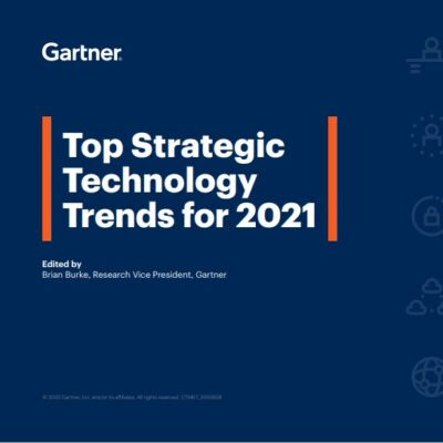 Top Strategic Technology Trends for 2021