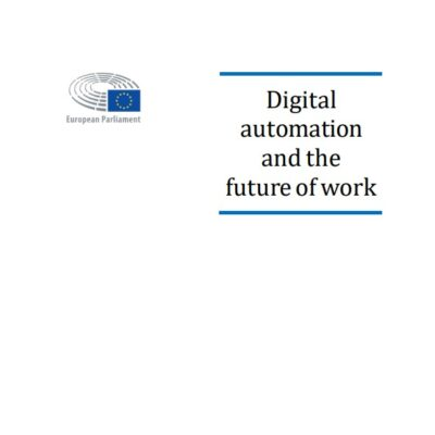 Digital automation and the future of work